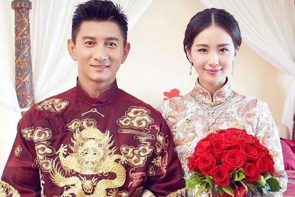 刘诗诗中式婚纱礼服