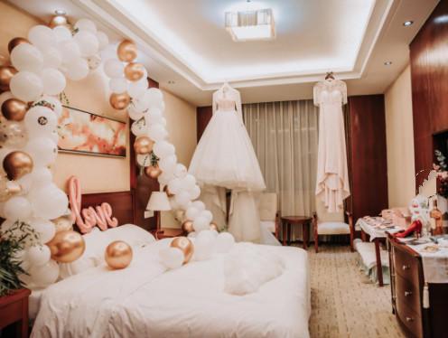 /婚房布置气球