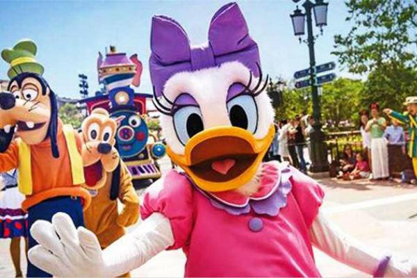 迪士尼玩偶求婚