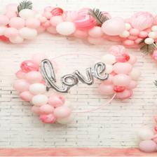 婚房气球布置图片欣赏 婚房气球怎么布置好看