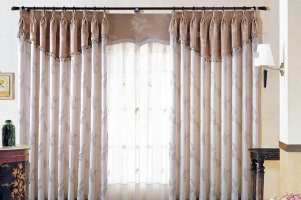 棉麻布窗帘