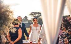 结婚当天新娘发的说说