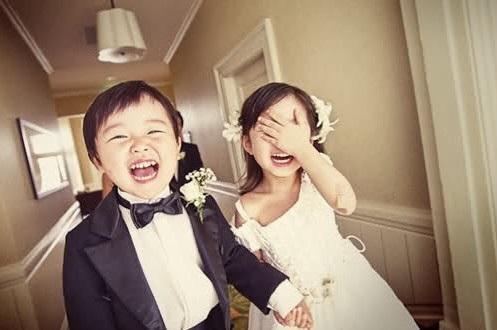 结婚花童礼服