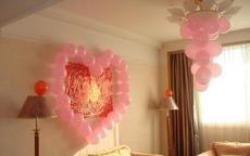 最新婚房气球布置有哪些方案?婚房应该如何布置气球?