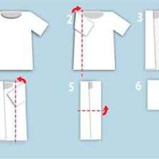短袖衬衫怎么叠 最全的短袖衬衫叠法