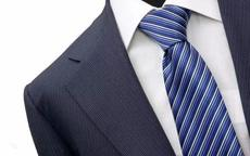 标准温莎结领带打法步骤图解 1分钟搞定最经典的领结