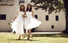 适合胖人穿的婚纱图片 穿对了胖新娘也能拍好看的婚纱照!