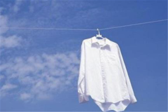 衬衫衣领发黄清洗窍门