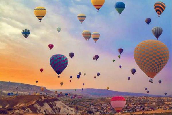 热气球求婚
