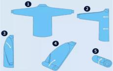 衬衫怎么叠不出褶 3张图让你迅速学会叠衬衫