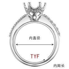 标准戒指指围对照表 3个戒指指围测量小方法