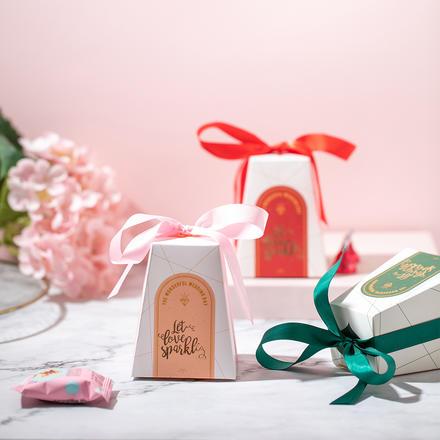 欧式爱的城堡喜糖盒
