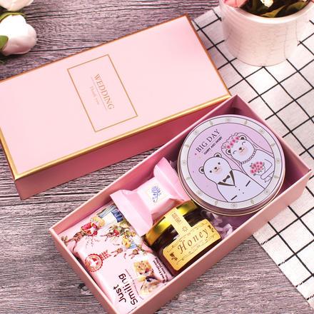 欧式结婚喜糖盒创意礼品盒成品含糖