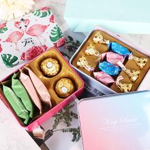 欧式成品喜糖盒含糖结婚订婚回礼