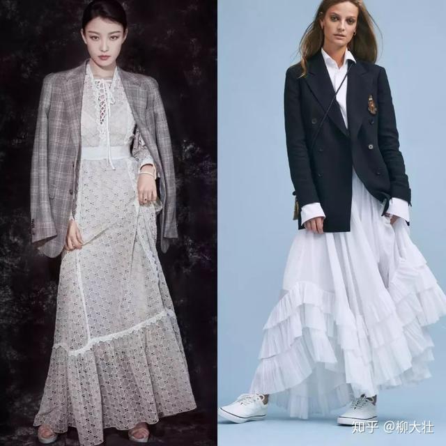 常规西装+连衣裙