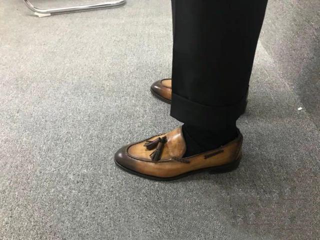 9分裤+乐福鞋