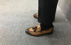 休闲西裤配什么鞋子