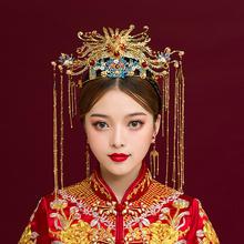 2019新款龙凤呈祥中式新娘结婚发饰