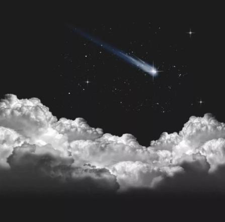 /星空云层