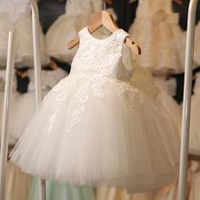 韩版金色蕾丝贴花背心儿童公主裙礼服裙