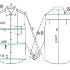 衬衫尺寸怎么量
