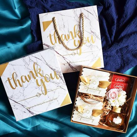 婚礼方形伴手礼喜糖盒硬盒
