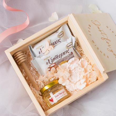 抖音结婚定制木盒喜糖盒子婚礼伴手礼