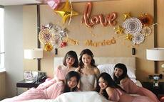 婚房气球布置图片卧室简单