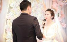 婚礼新娘对新郎说的话感人