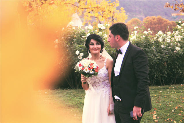 新郎新娘结婚现场