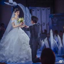 乔欣自曝想要独角兽婚礼,个性主题婚礼你pick哪种?