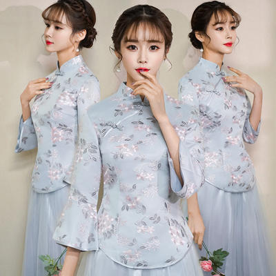 中式仙气中国风闺蜜姐妹团伴娘服