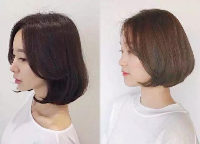 圆脸女生适合的短发头型