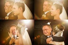 女儿出嫁父亲简单四句