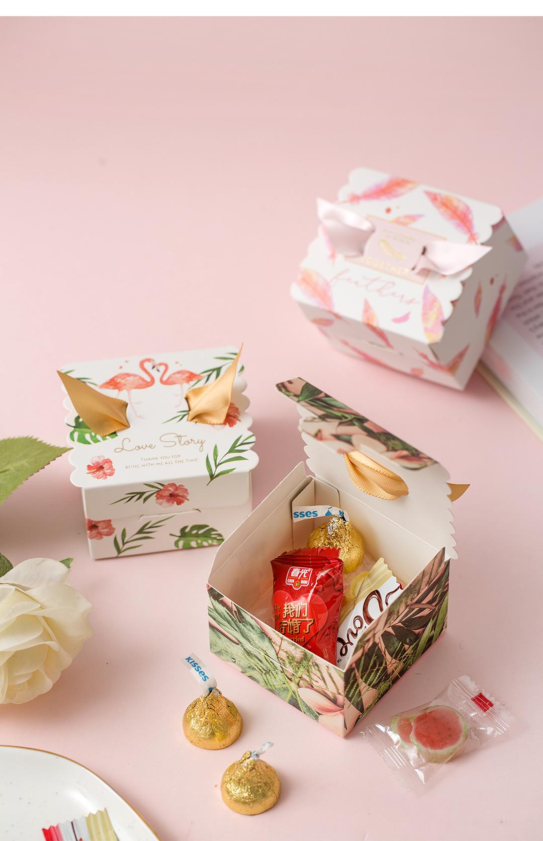 天使之翼喜糖盒