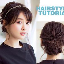 韩式婚纱照做什么发型好看