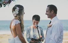 西方婚礼最正确誓词英语