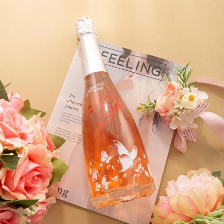 Agoni 爱格尼玫瑰瓶底桃红甜型葡萄酒