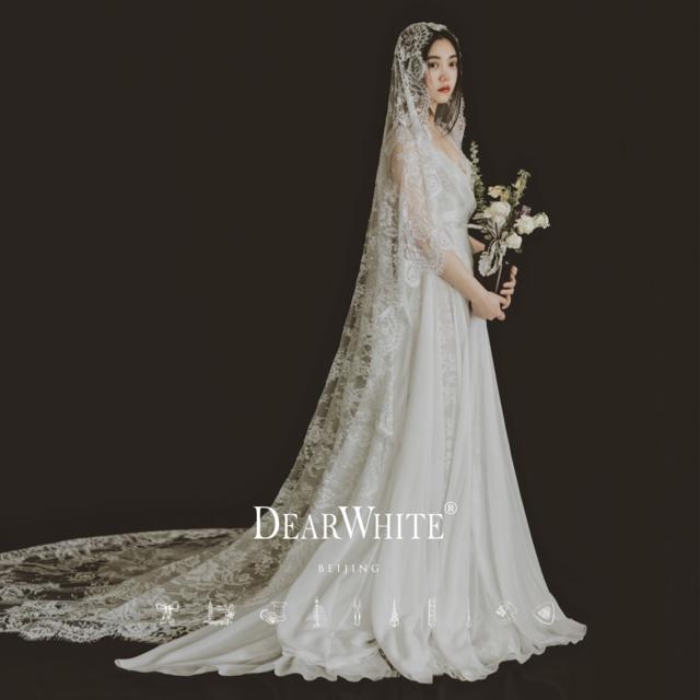 亲爱的白婚纱