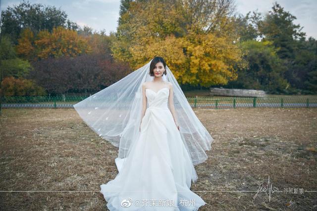 芥茉新娘婚纱