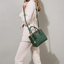 大版包包2019新款手提包欧美时尚单肩斜跨真皮女包托特包女包