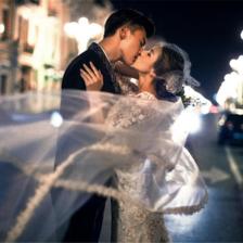 夜景婚纱照拍摄攻略