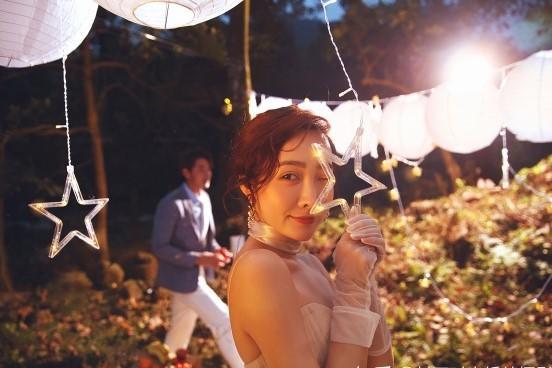/新娘婚纱照手持道具