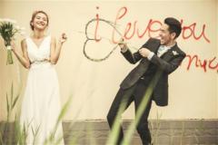 全程不喊卡 纪实风格婚纱照里的爱情更动人