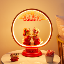 婚房创意百年好合夜灯