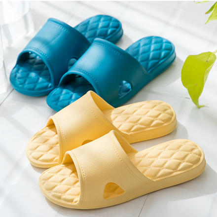 EVA无声防滑软底情侣夏季浴室拖鞋