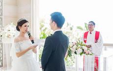 婚礼现场新娘发言,感动全场人
