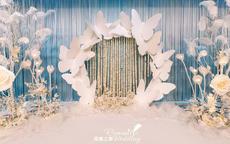 蝴蝶主题的婚礼如何布置?