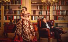 室内婚纱照风格图片