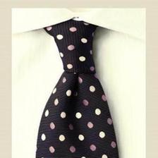 男士正装领带打法